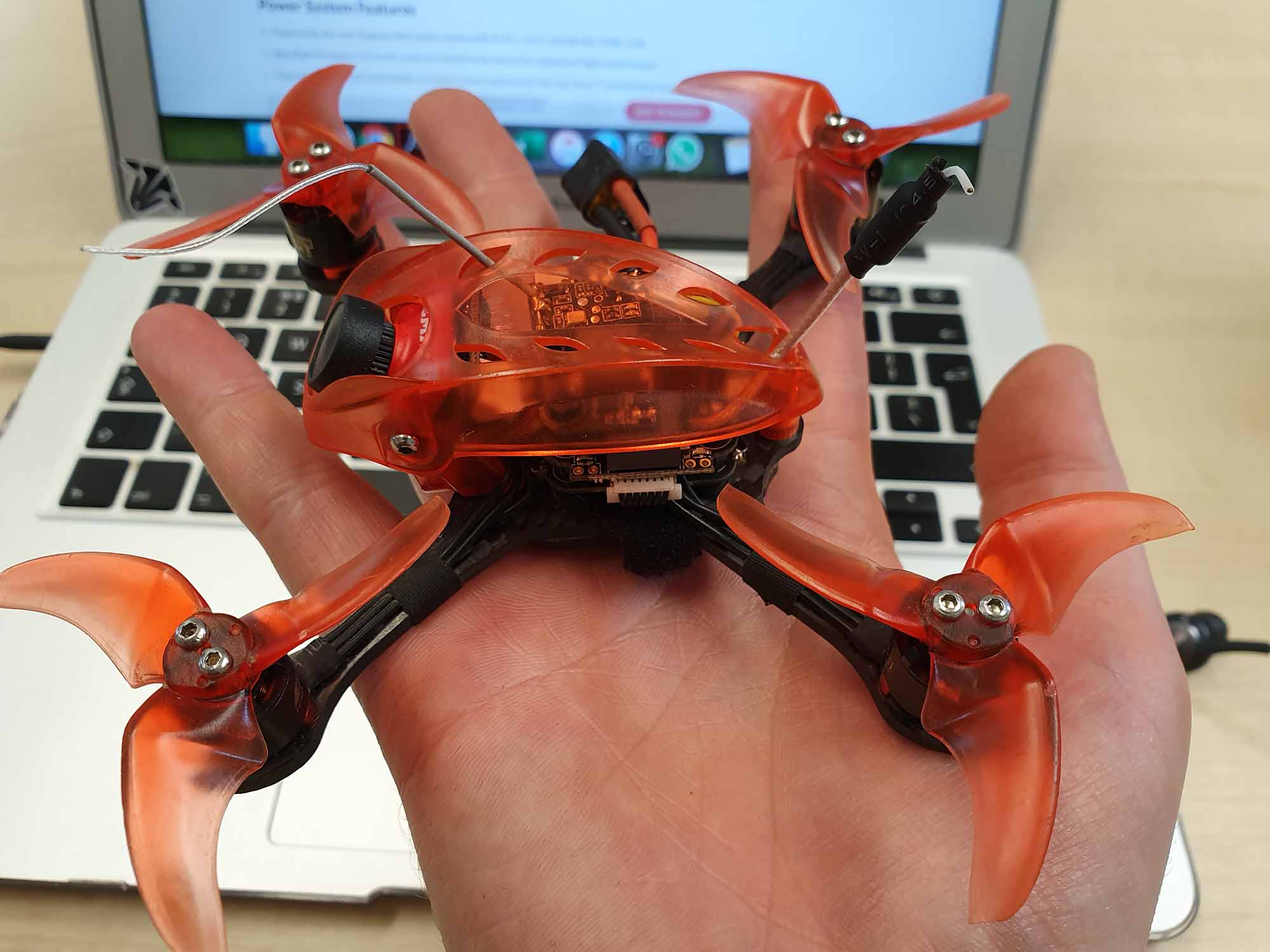Racing drone under 250 g