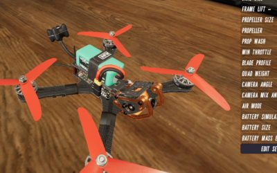 Drone and RC aircraft simulator videos