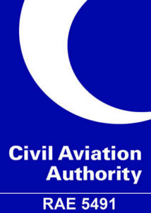 CAA Logo with RAE number 5491